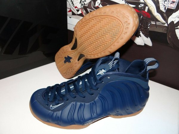 Nike Air Foamposite One Navy Gum 314996-405   42,5 EU Limited Edition