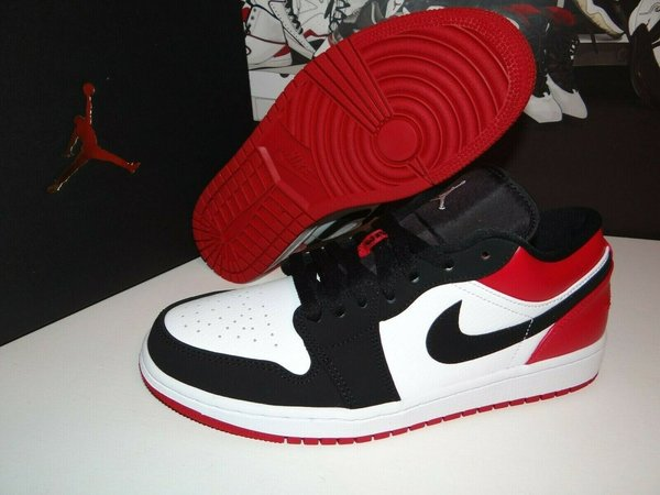 Nike Jordan 1 Low Black Toe 43 EU Limited Edition