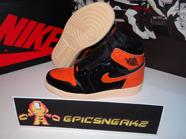 43 EU Nike Air Jordan 1 Retro High OG Shattered Backboard 3.0,555088-028 Deadstock Limited